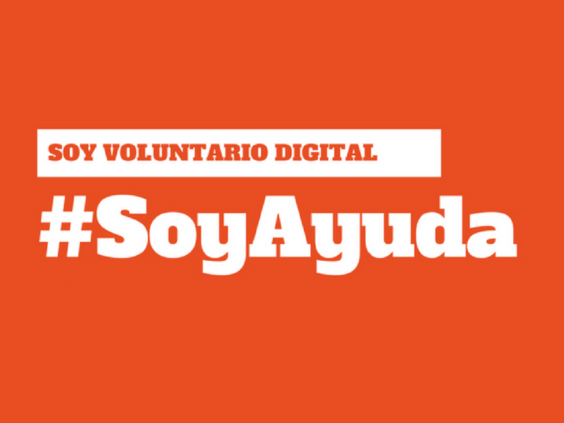 #SoyAyuda: voluntariado digital